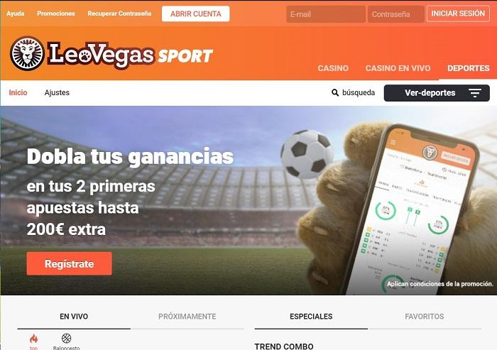 LeoVegas Deportes